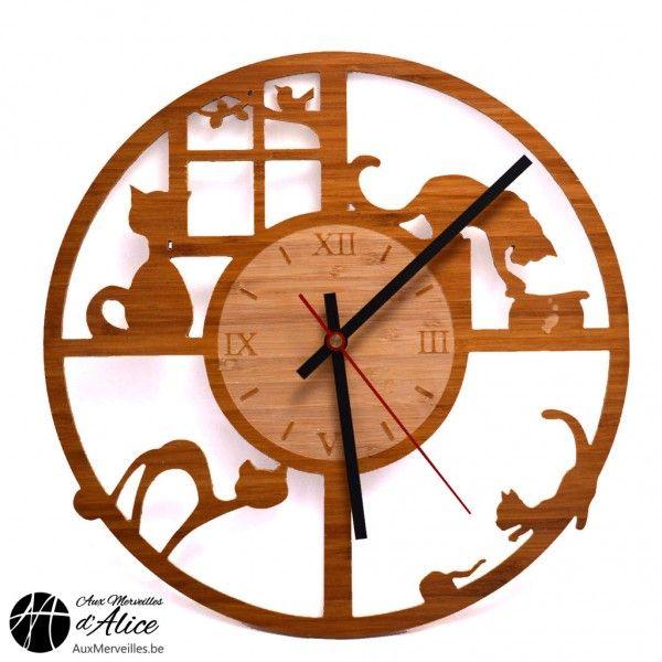 Les 25 meilleures id es de la cat gorie horloge originale for Horloge zodio