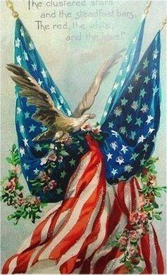 O beautiful for spacious skies,   For amber waves of grain,   For purple mountain majesties   Above the fruited plain!   America! America!   God shed his grace on thee   And crown thy good with brotherhood   From sea to shining sea!