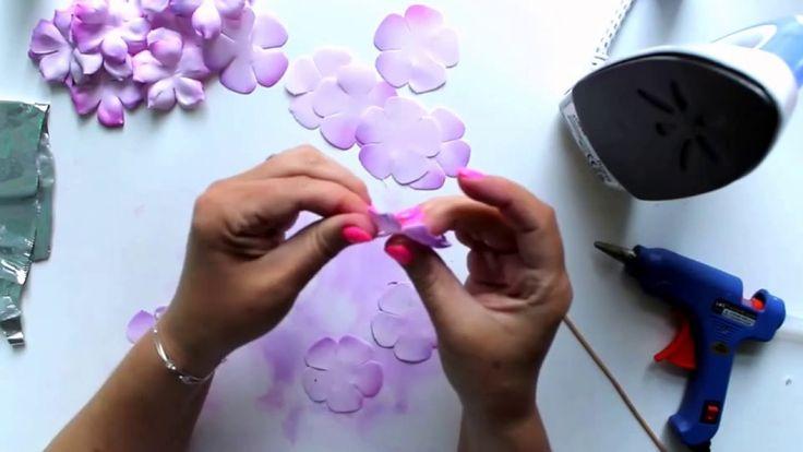 różyczki z foamiranu