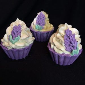 Lovely Lavender Soap Cupcake