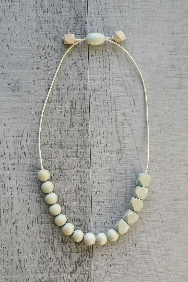 CLOUD | Cool Grey Affirmama Necklace