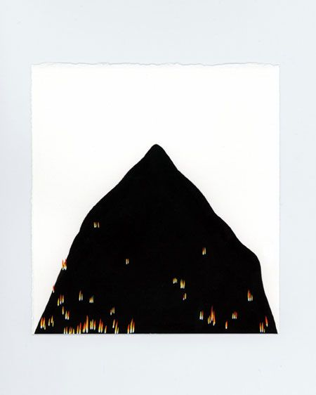 Burning mountain - 4º  Marta Orzel