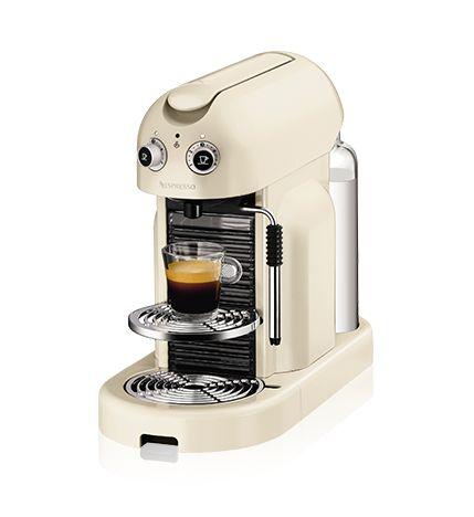 ネスプレッソ コーヒーメーカー マエストリア クリーム(D500WH) :: ネスレ製品ラインナップ