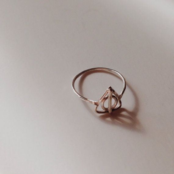 Harry Potter Deathly Hallows Sterling Silver Ring