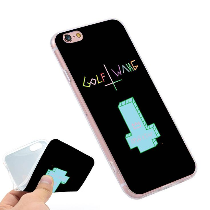 Odd Future Ofwgkta Golf Wang  Clear Soft TPU Slim Silicon Phone Case Cover for iPhone 4 4S 5C 5 SE 5S 7 6 6S Plus 4.7 5.5 inch