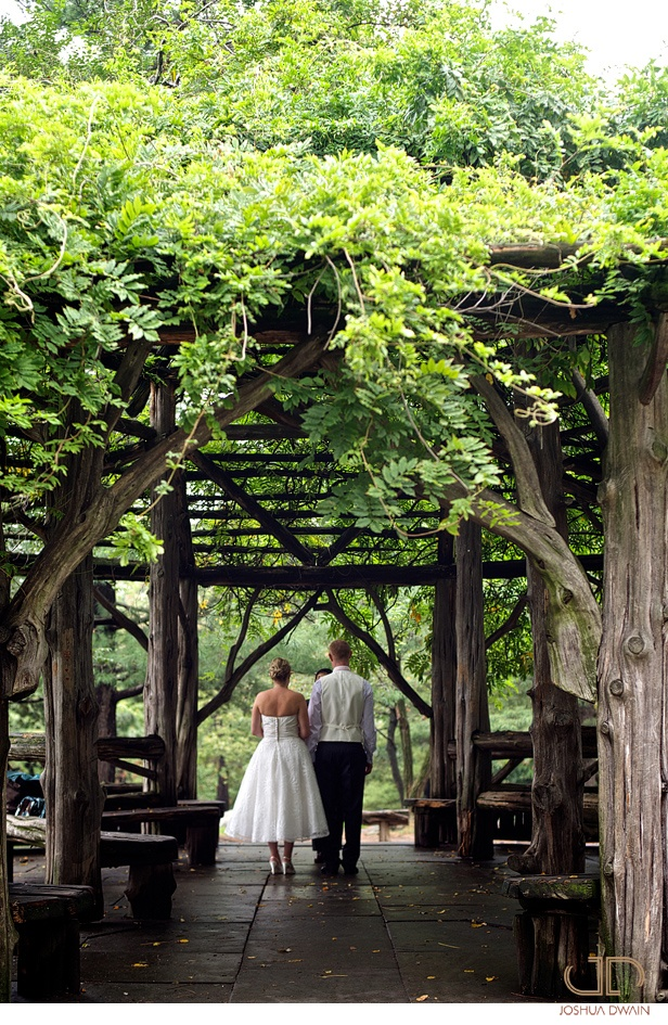 Beautiful Elopement At Cop Cot In Central Park New York City November