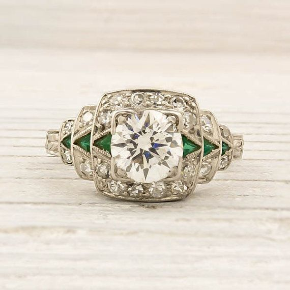 Antique 79 Carat Old European Cut Diamond by ErstwhileJewelry