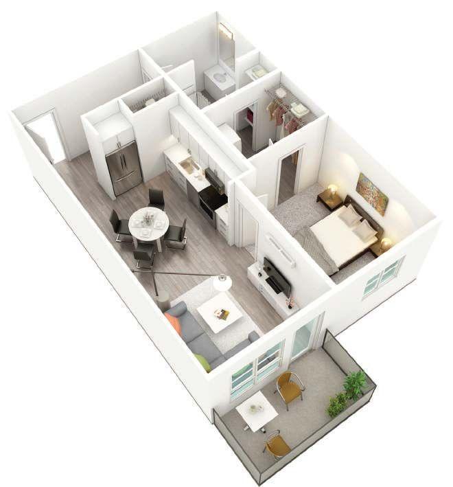 Thefairrmont Floorplan 3d House Floor Design Tiny House Design Home Room Design