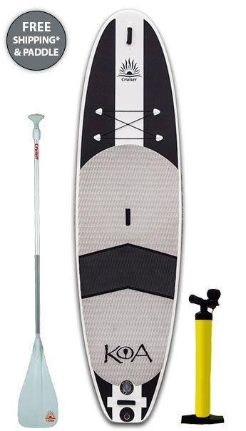 2014 Cruiser Koa DURA-AIR 10ft 2in x 32in Inflatable Stand Up Paddle Board | Paddle Board Direct