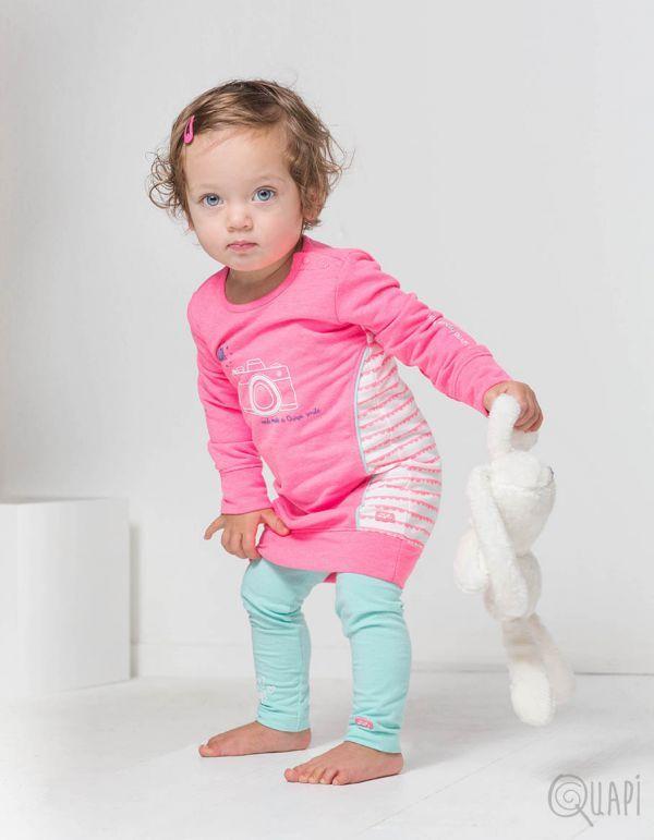 Quapi | Dress Fanessa Sweet | Legging Frida 1 Mint