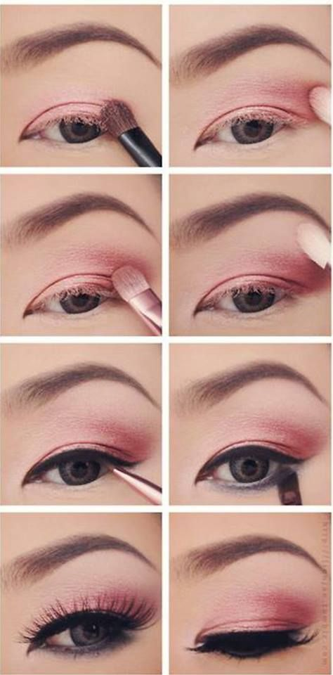 Sombras claras make up pinterest makeup eye and eye for What is cosmetics made of