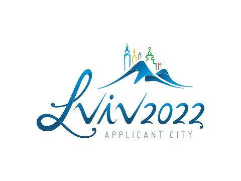 Logo of the city as a candidate for the Winter Olympics 2022
