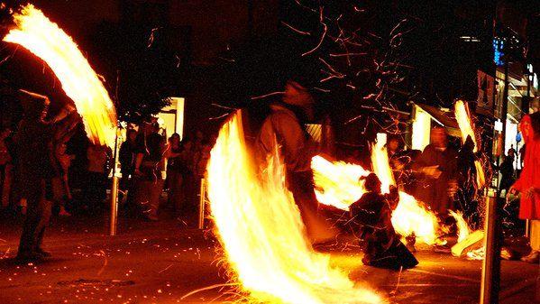 """UNESCO declared """"Les Falles del Pirineu"""" cultural heritage of Andorra  #UNESCO #falles #foc #festes http://cultura.gencat.cat/ca/departament/estructura_i_adreces/organismes/dgcpt/02_patrimoni_etnologic/03_proteccio/01_declaracions_unesco/#FW_bloc_8f6142a9-4383-11e4-9570-000c29cdf219_1"""