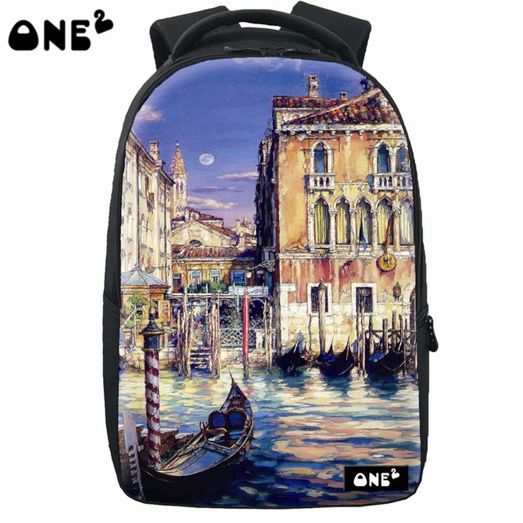 ONE2 Design china wholesale backpacks sublimation print practical high school students teenager boys girls kid children