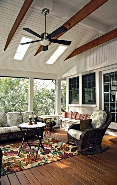 61 best screened porch images on pinterest | porch ideas, enclosed ... - Outdoor Patio Ceiling Ideas