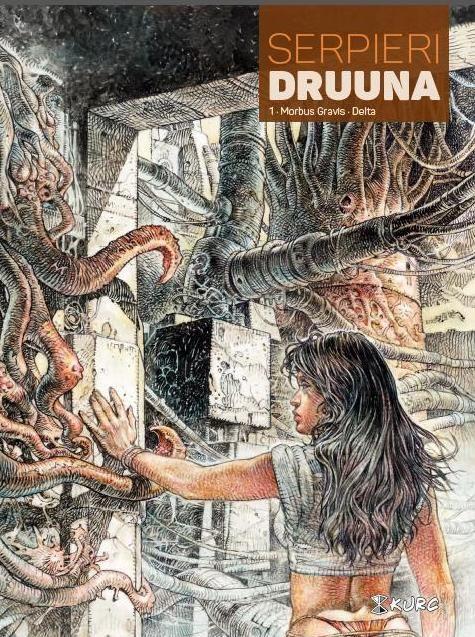 Druuna #1 - Morbus Gravis. Delta - Wydawnictwo KURC - październik 2016.