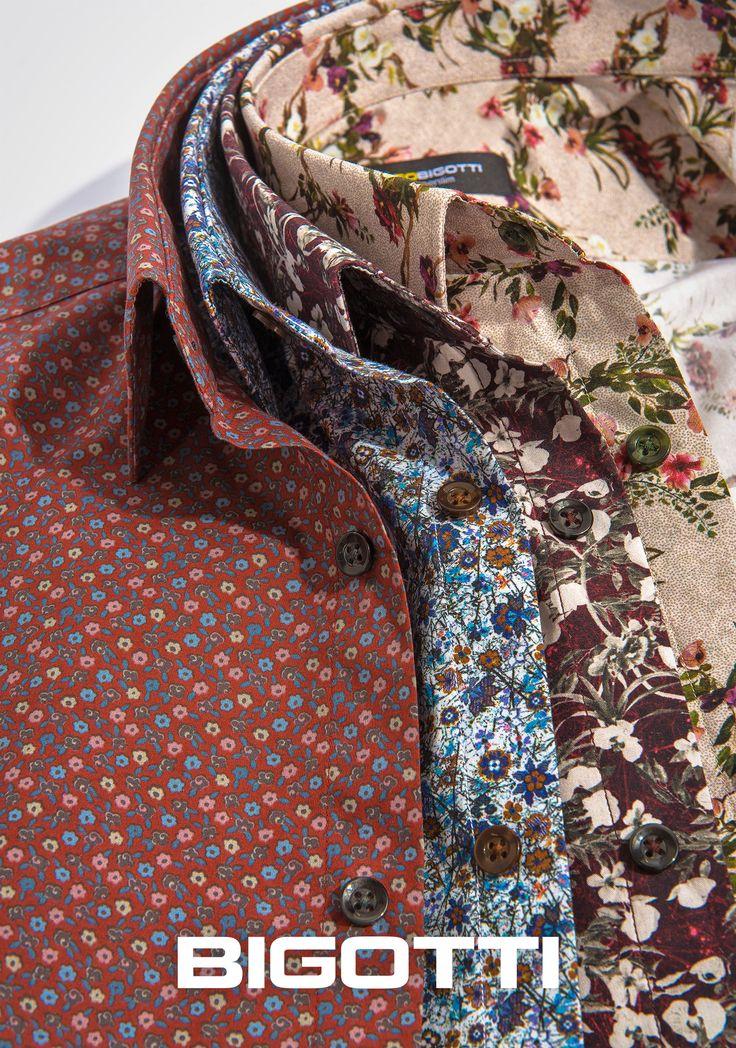 #Floral #print - a #trend to #keep for the #next #seasons 50% OFF #sale  #Bigottiromania #camasi #imprimeuri #florale #reduceri #stil #masculin #smart #casual #mensfashion #menswear #mensclothign #mensstyle #followus