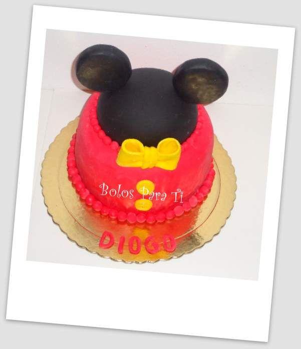 Bolo Mickey www.bolosparati.com www.facebook.com/pages/Bolos-para-Ti/489407764471826
