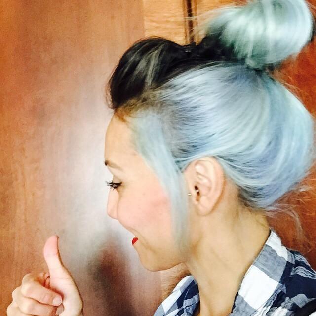 Pastel Blue Hair Inspiration   StyleCaster