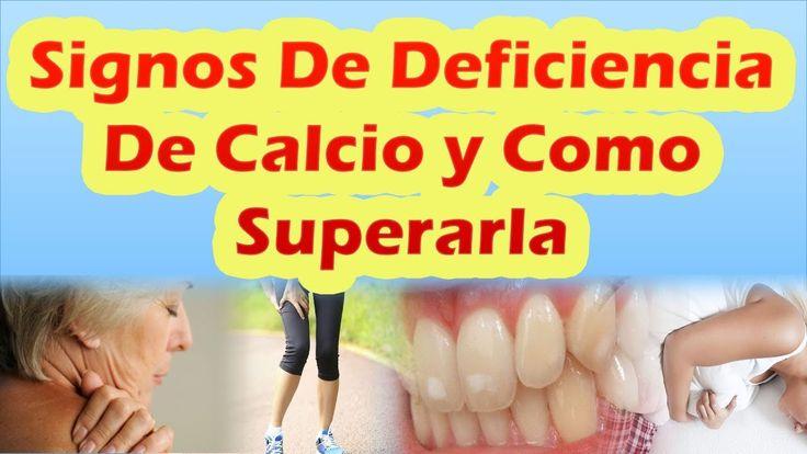 Signos de que puedes tener deficiencia de calcio y como superarla ALIMEN...