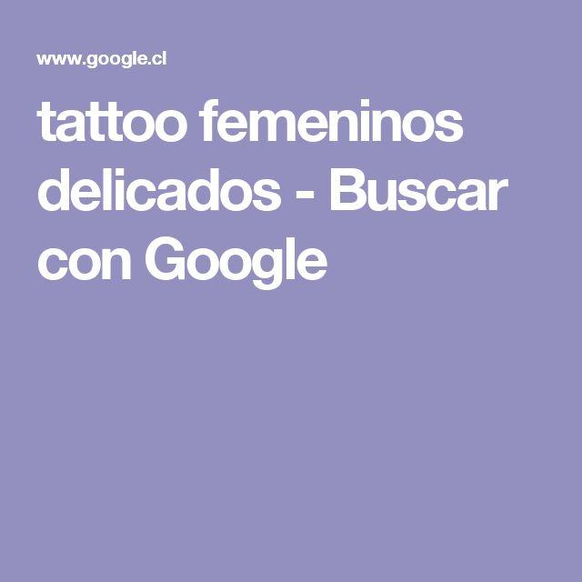 tattoo femeninos delicados - Buscar con Google