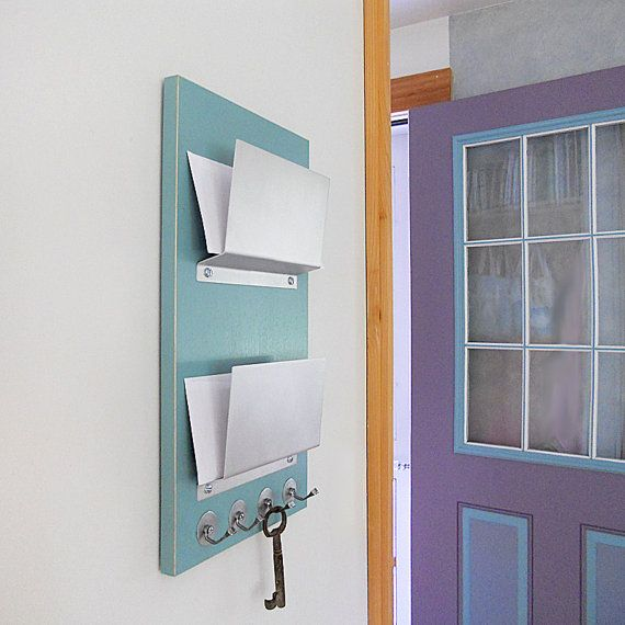 Bulletin Board Organizer Message Center With Mail File