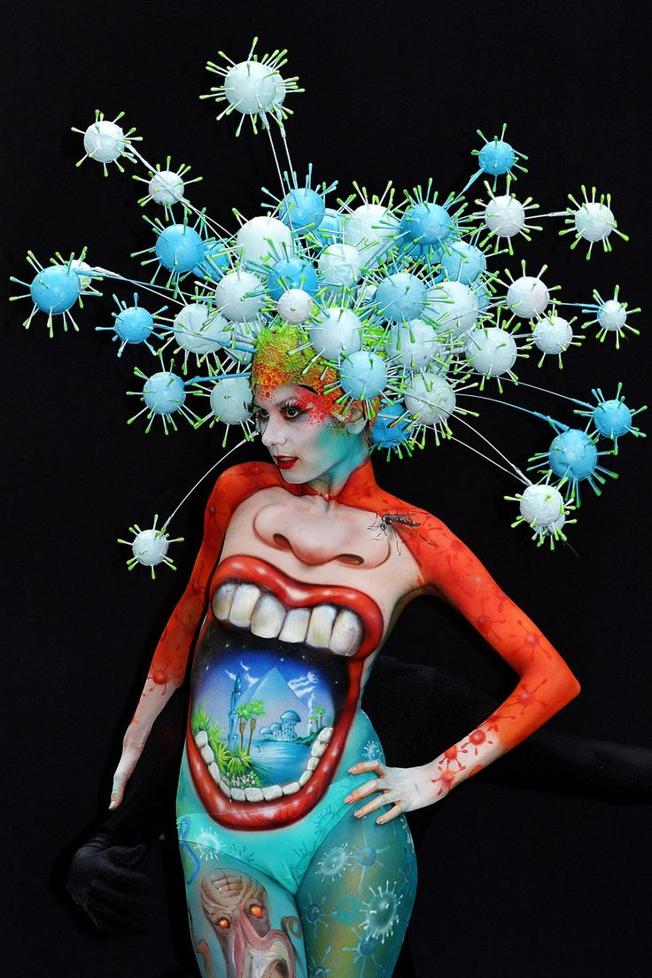 16th World Bodypainting Festival | Face and body painting | #art #bodypaint board