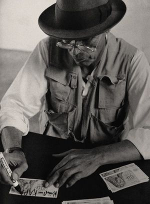Joseph Beuys multiples: an online selection of works drawn from the collections of the Pinakothek der Moderne in Munich