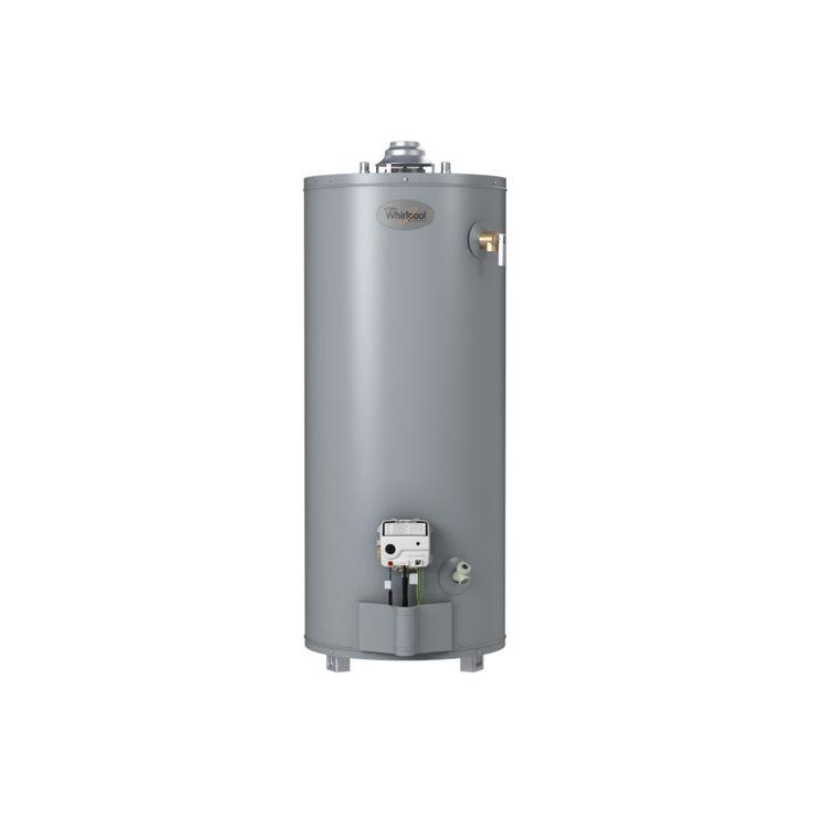 Whirlpool 40-Gallon 6-Year Short Natural Gas Water Heater