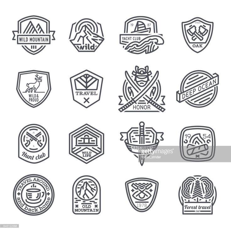 best 25 hipster logo ideas on pinterest vintage logo