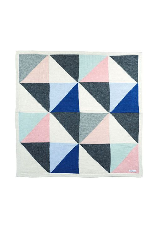 this beautiful blanket with its crystal color combination is like looking into a diamond reflecting the pink sky of copenhagen...