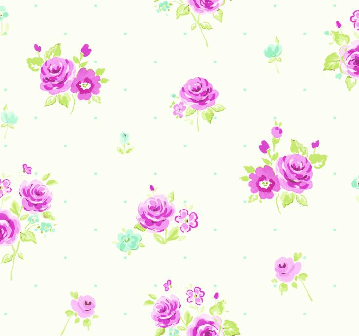 Fryett's Fabrics: Petit Fleur Candy