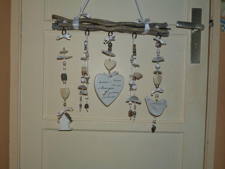 weer een hanger met decoratie en zeepjes in verwerkt