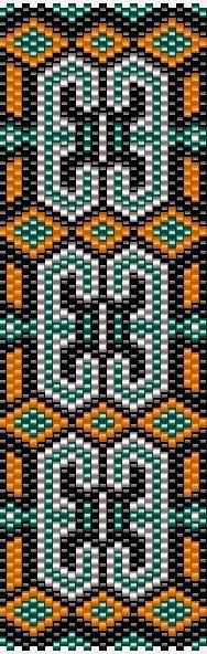 Еще мозаичные браслеты   biser.info - Бисер и бисероплетение