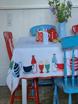 Cath Kidston...famous for vintage inspired prints on everything from clothing and accessories to homewares and home furnishings. Mixing the whimsical, the classic and the nostalgic is what has given Cath Kidston a refreshingly modern edge.