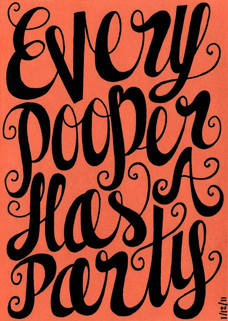 """For #pottytrainers.... I see, """"Every pooper has a potty!"""""""