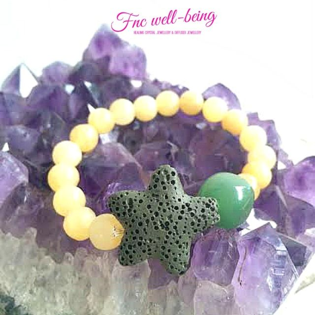 Healing Crystal and Diffuser Jewellery - Fnc Wellbeing