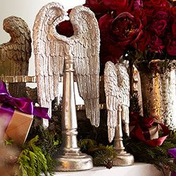 Angel Wings - Set of 2 - New - holiday decorations - dallas - by Wisteria