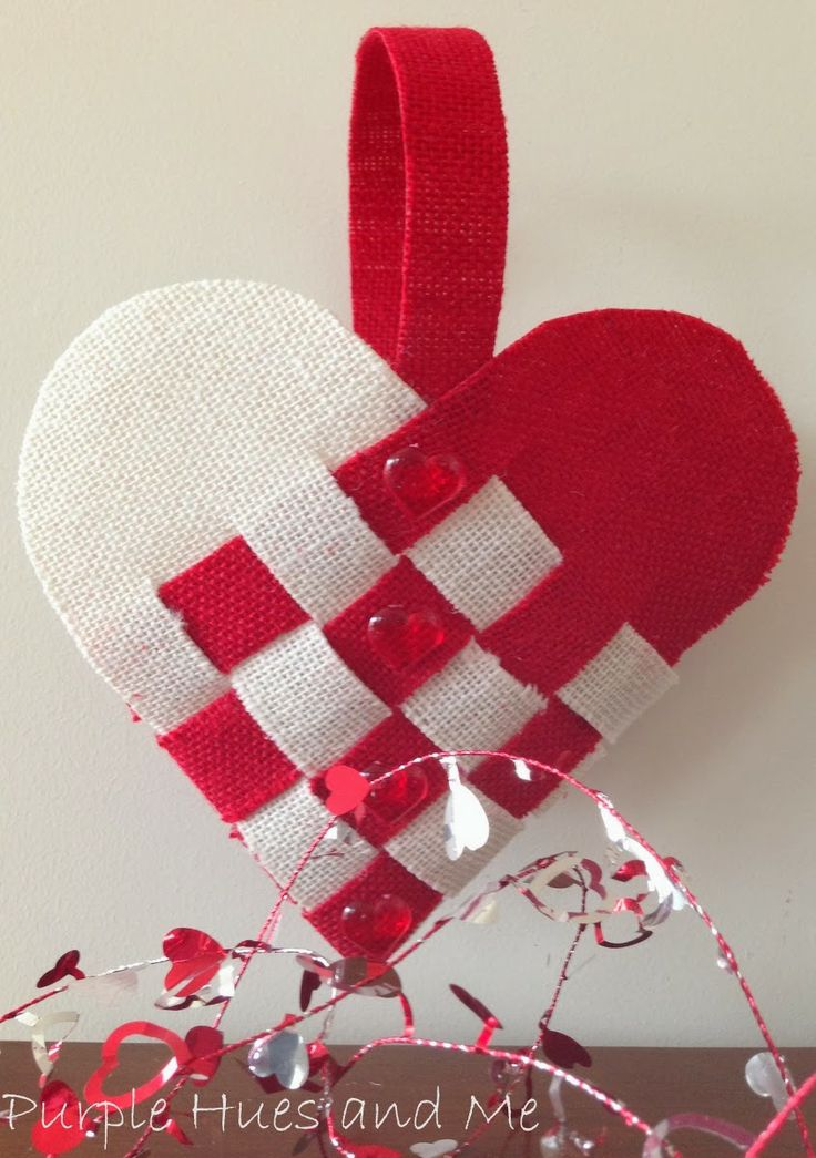 Woven Heart Basket Craft : Best images about valentine s on ideas for