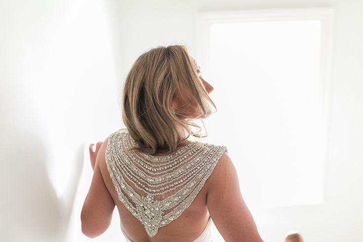 Anna Campbell wedding dress ireland back detail
