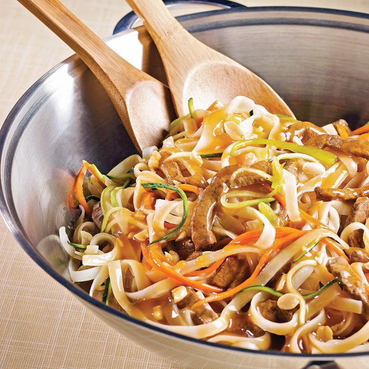 Sauté de bœuf à l'asiatique au parfum d'érable - Recettes - Cuisine et nutrition - Pratico Pratique
