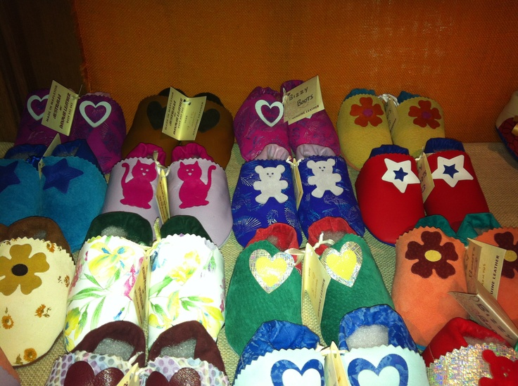 Baby Booties with Applique sizes 3-9 months and 9-15 months