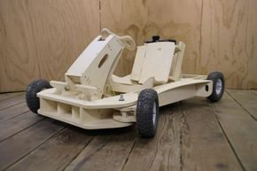 Plyfly Go Karts from Flatworks, flatpacked kits to assemble your own Go Kart //
