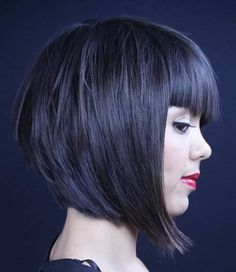 Layered Bob Bangs on Pinterest | Bob Bangs, Layered Bobs and Bobs