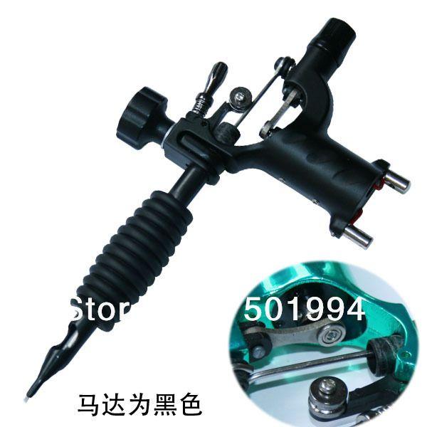 잠자리 문신 기계 쉐이더 및 라이너 로타리 총 7 색상 모듬 문신 모터 총 그립 키트 저렴한 가격 무료 배송