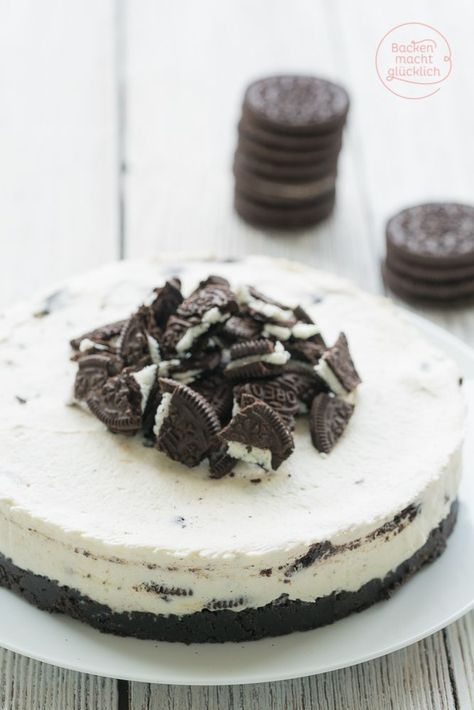 Oreo Torte Ohne Backen Rezept Kinderkuchen
