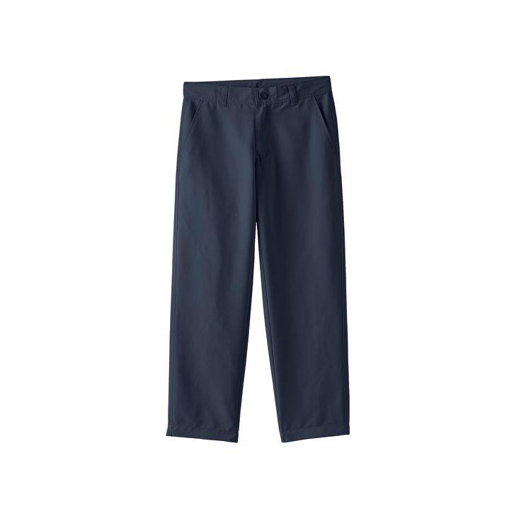 Boys 8-20 Chaps Performance School Uniform Pants, Boy's, Size: 14, Blue (Navy)