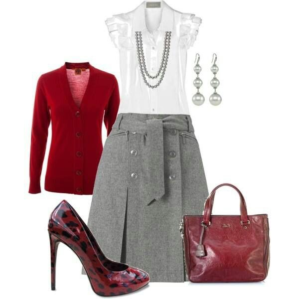Classy work attire