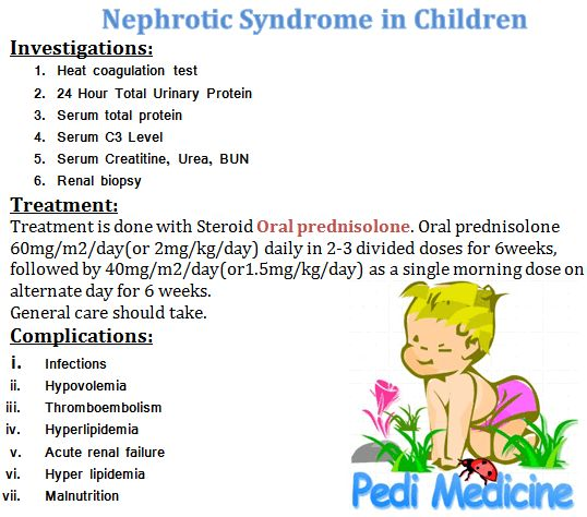 nephritic syndrome Acute nephritic syndrome is the most serious and potentially  treatment of  psgn is mainly supportive, because there is no specific therapy for.
