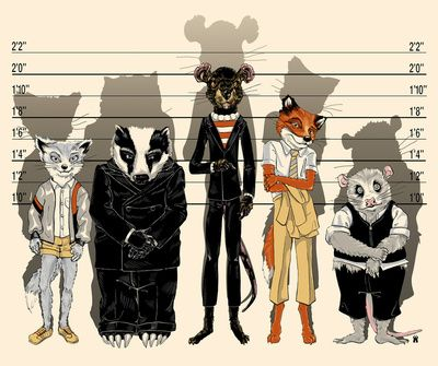 """The Fantastic Mr. Fox, hilarious movie where instead of swearing the animals say """"ahh what the cuss, don't you cuss with me"""""""